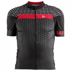 2018 Craft Route Black Cycling Jersey