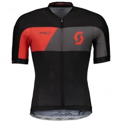 2018 Scott RC Premium Black-Red Cycling Jersey