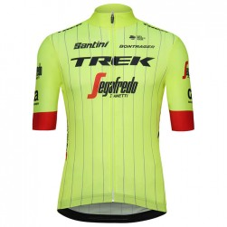 2018 Trek Segafredo Team Yellow Cycling Jersey