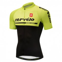 2018 Cervelo 3T Yellow Cycling Jersey