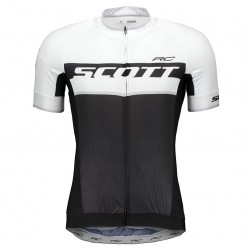 2018 SCOTT RC Black-White Cycling Jersey