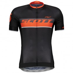 2018 SCOTT RC Black-Red Cycling Jersey