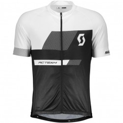 2018 SCOTT-TEAM 1.0 Black-White Cycling Jersey