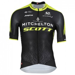 2018 SCOTT Mitchelton Team Black Cycling Jersey
