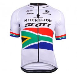 2018 SCOTT Mitchelton South Africa Champion Cycling Jersey