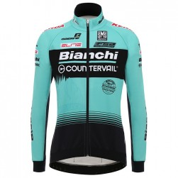 2018 Team Bianchi Countervail Long Sleeve Cycling Jersey