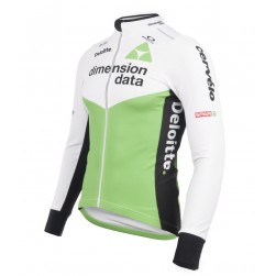 2018 Dimension Data White Long Sleeve Cycling Jersey