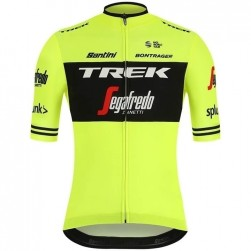 2019 Trek-Segafredo Factory Team Yellow Cycling Jersey f6d011730