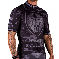 2016 RockRacing Camouflage Black Cycling Jersey