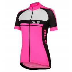 2016 Ale Plus Women Pink Cycling Jersey