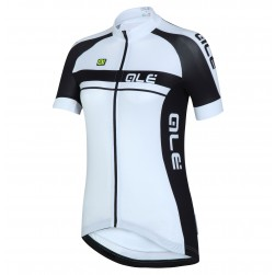2016 Ale Plus Women Black Cycling Jersey