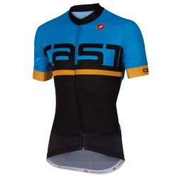 2016 Cаstelli Meta FZ Blue-Black Cycling Jersey