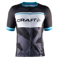 2016 Craft Classic Logo Black-White Cycling Jersey