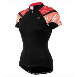 2016 Pearl Izumi Elite Black-Orange Women Cycling Jersey