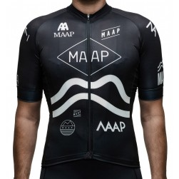 2016 Maap Team Black Cycling Jersey