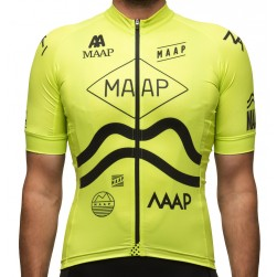 2016 Maap Team Yellow Cycling Jersey