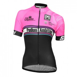2016 Podium Ambition Pink Women's Cycling Jersey
