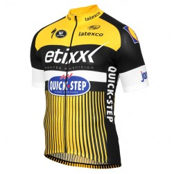 2016 Etixx-Quick Step TDF Edition Yellow Cycling Jersey