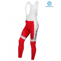 2016 Cofidis Team Thermal Cycling Bib Pants