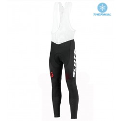 2016 Scott RC White-Black-Red Thermal Cycling Bib Pants
