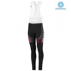 2016 Scott RC White-Black-Red Women Thermal Cycling Bib Pants