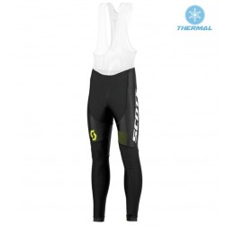 2016 Scott RC Black-Yellow Thermal Cycling Bib Pants