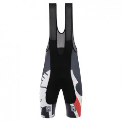 2017 Cinelli Chrome Training Black Cycling Bib Shorts