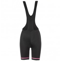 2017 Etxeondo Nero Black-Pink Cycling Bib Shorts