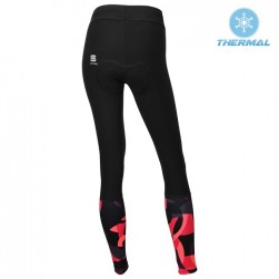 2017 Spоrtful Primavera Red Women Thermal Cycling Pants