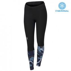 2017 Spоrtful Primavera Blue Women Thermal Cycling Pants