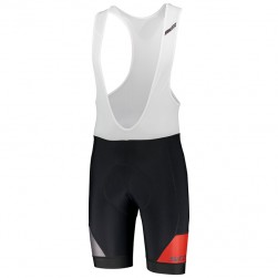 2018 Scott RC Premium Black-Red Cycling Bib Shorts