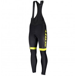 2019 Scott-RC-Team Black-Yellow Cycling Bib Pants