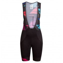 2016 Team Canyon Colorful Women Cycling Bib Shorts