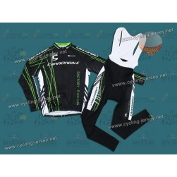 7ef7d3ed4 Cannondale Factory Racing Thermal Team Cycling Long Sleeve Jersey And Bib  Pants Set