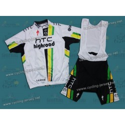 2011 Columbia HTC Highroad Team Cycling Jersey and Bib Shorts Set