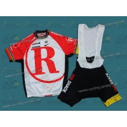 2011 RadioShack Champion Team Cycling Jersey and Bib Shorts Set