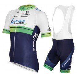 2015 Orica GreenEdge Cycling Jersey And Bib Shorts Set