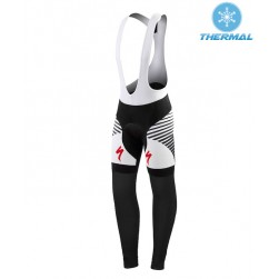 2015 SPED DSK Black And White Thermal Cycling Bib Pants