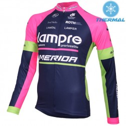 2015 Lampre Merida Thermal Cycling Long Sleeve Jersey