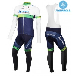 2015 Orica GreenEdge Thermal Long Sleeve Cycling Jersey And Bib Pants