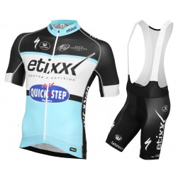 2015 Etixx-Quick Step Cycling Jersey And Bib Shorts Set