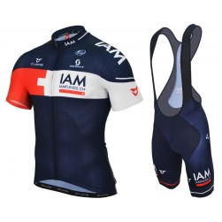2015 Team IAM Cycling Jersey And Bib Shorts Set