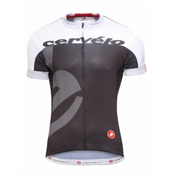 2015 Team Cervelo White-Black Cycling Jersey
