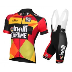 2015 Team Cinelli Chrome Cycling Jersey And Bib Shorts Set