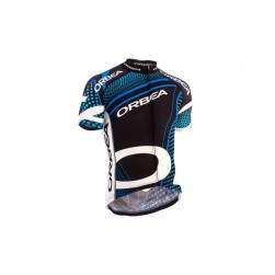 2015 Orbea Black With Blue Dot Cycling Jersey