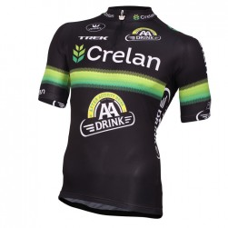 2016 Crelan-AA Drink Black Cycling Jersey