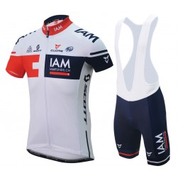 2016 Team IAM Cycling Jersey And Bib Shorts Set