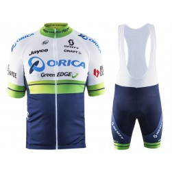 2016 Orica GreenEDGE Cycling Jersey And Bib Shorts Set