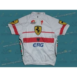 2012 Ferrari ERG White Poland Champion Cycling Jersey