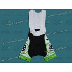 2012 Team Project 1t4i White Cycling Bib Shorts